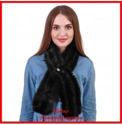 Меховой шарф из норки 5