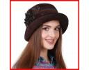 Демисезонные шапки для женщин. Весна-осень