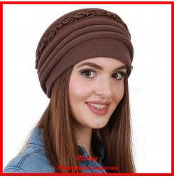 Демисезонная шапка Алла