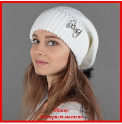 Трикотажная шапка Анна