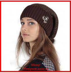 Трикотажная шапка Оксана 2
