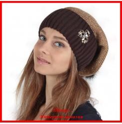 Трикотажная шапка Оксана 1