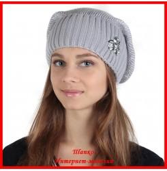 Трикотажная шапка Анна 2
