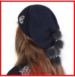 Трикотажная шапка Анна 3