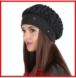 Демисезонная шапка Лесли