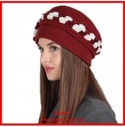 Демисезонная шапка Дарин