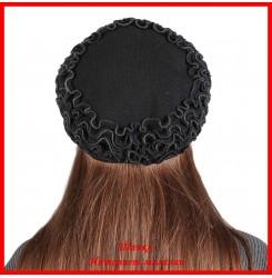 Демисезонная шапка Ольга