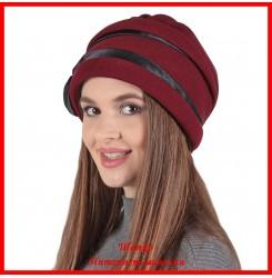 Демисезонная шапка Виола
