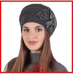 Демисезонная шапка Оллана