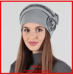 Демисезонная шапка Гламур