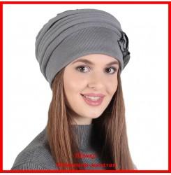 Демисезонная шапка Розалина