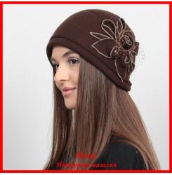 Демисезонная шапка Жаклин