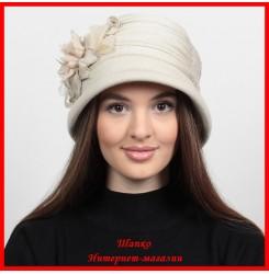 Трикотажная шляпка Анна
