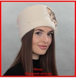 Демисезонная шапка Оксана