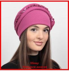 Трикотажная шапка Аннета