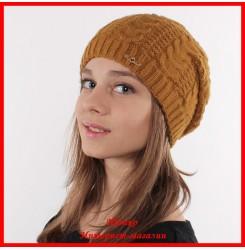 Трикотажная шапка Вероника 2