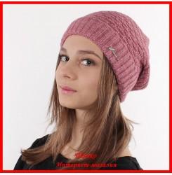 Трикотажная шапка Аленка 2