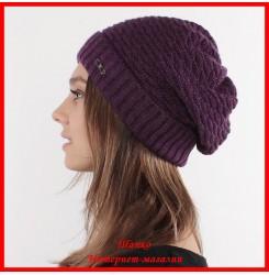 Трикотажная шапка Аленка 3
