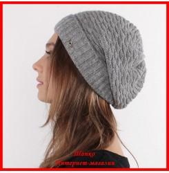 Трикотажная шапка Аленка 4