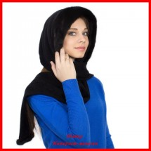 Капюшон - шарф с норкой