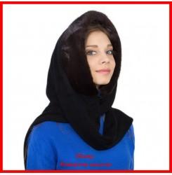 Капюшон - шарф с норкой 1