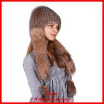 Меховая шапка Дарина 1