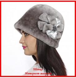 Меховая шляпка Комфорт
