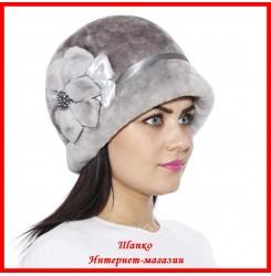 Меховая шляпка Маргарита