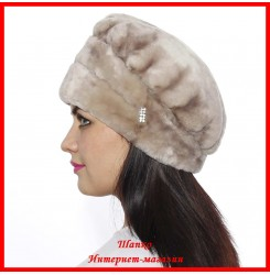Мутоновая шапка Мила 1