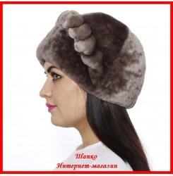Мутоновая шапка Дарья