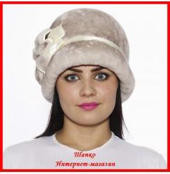 Меховая шляпка Маргарита 1