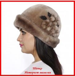 Меховая шляпка Шарм 1
