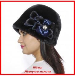 Меховая шляпка Комфорт 1
