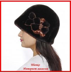 Меховая шляпка Комфорт 2