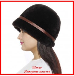 Меховая шляпка Маргарита 3