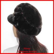 Меховая кепка Модница 2