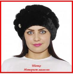 Мутоновая шапка Мила 3