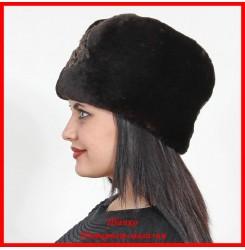 Меховая шапка Натали