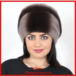 Норковая шапка Анастасия