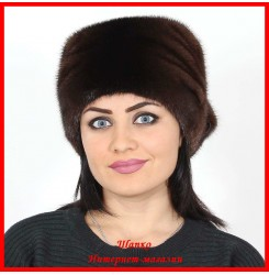 Норковая шапка Косынка 3