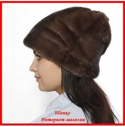 Норковая шапка Мария 3