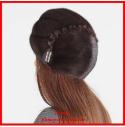 Меховая шапка Анжелина