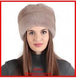 Норковая шапка Роза 6