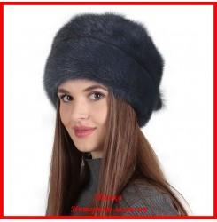 Норковая шапка Роза 9