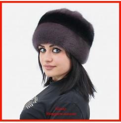 Норковая шапка Роза 5