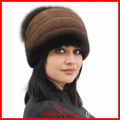 Норковая шапка Стелла 2