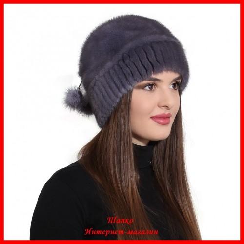 Норковая шапка Алиса