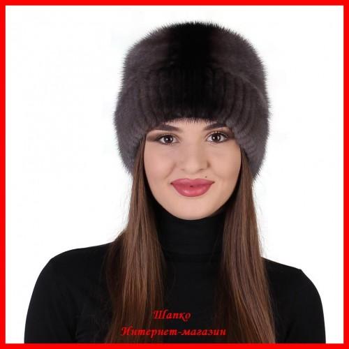 Норковая шапка Алиса 1
