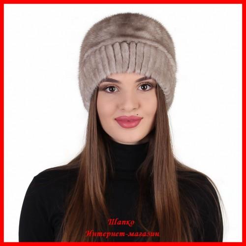 Норковая шапка Алиса 2