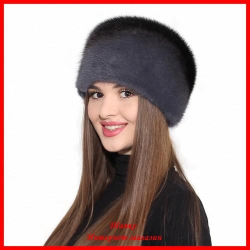 Норковая шапка Кубанка 2